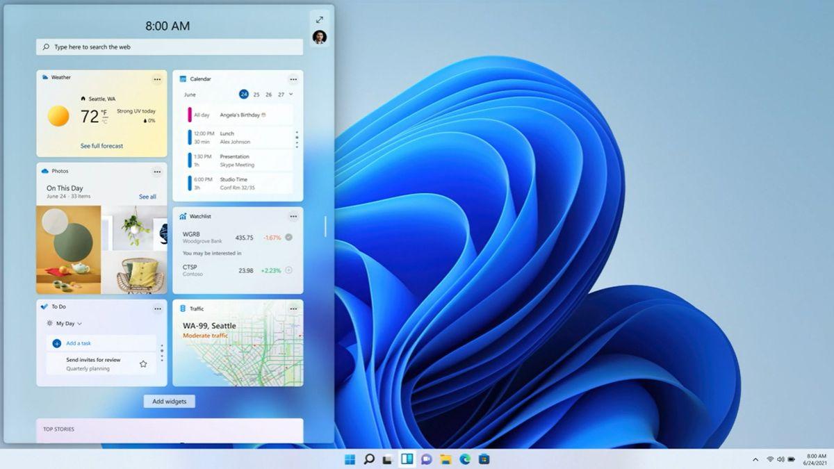 """Microsoft odhalil """"revoluční"""" Windows 11.Překvapivou premiéru trápily výpadky"""