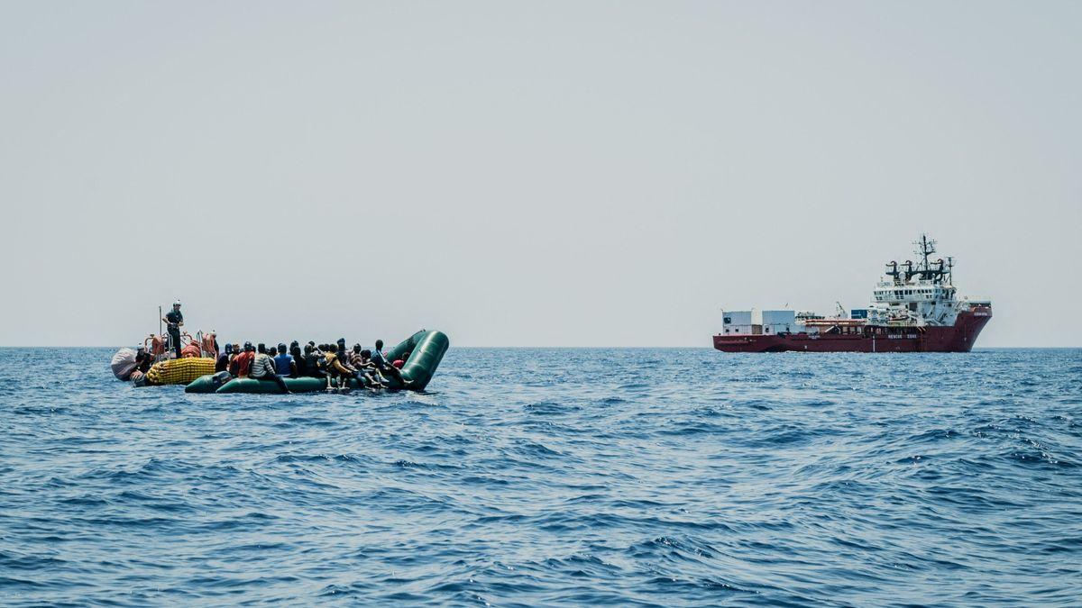 Nevládní organizace za posledních 48hodin namoři zachránily 600migrantů