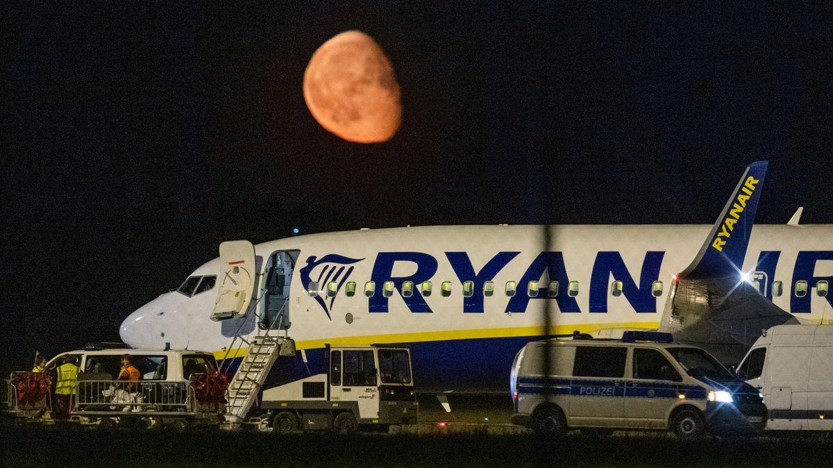 Letadlo Ryanair muselo opět nouzově přistát, tentokrát vNěmecku